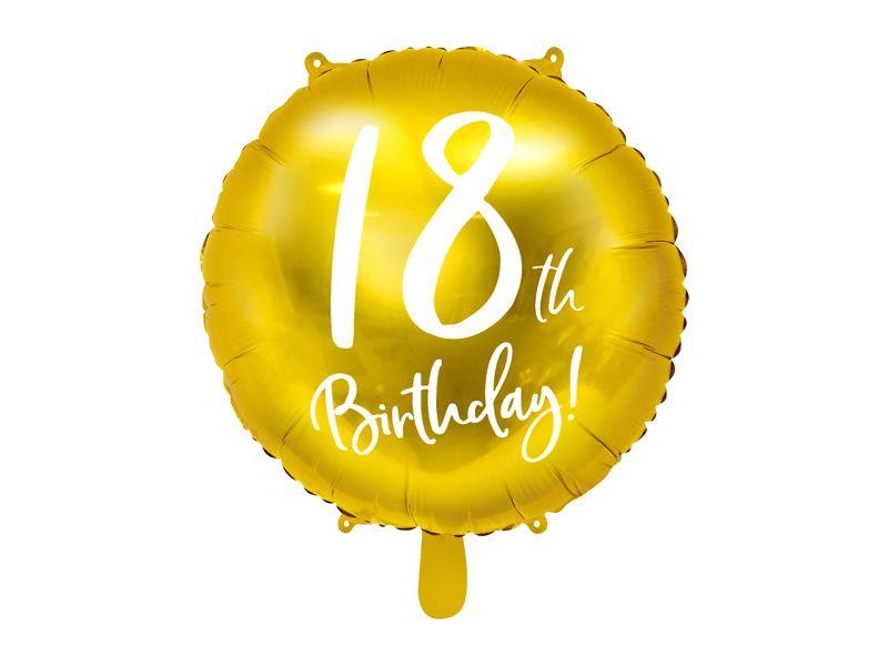 globo cumpleaños 18
