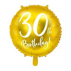 globo cumpleaños 30