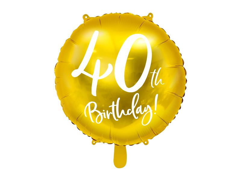globo aniversario 40