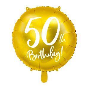 globo aniversario 50