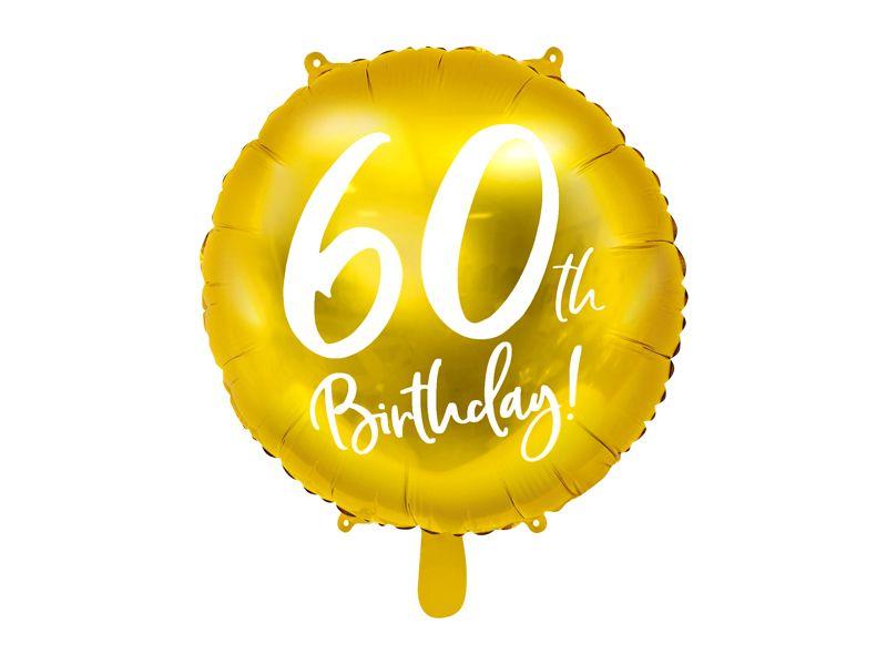 globo aniversario 60