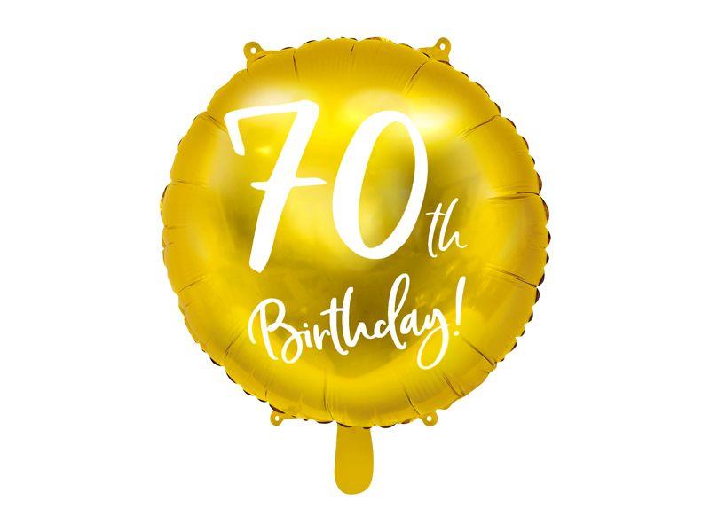 globo aniversario 70