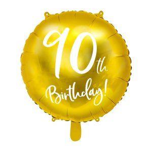globo aniversario 90