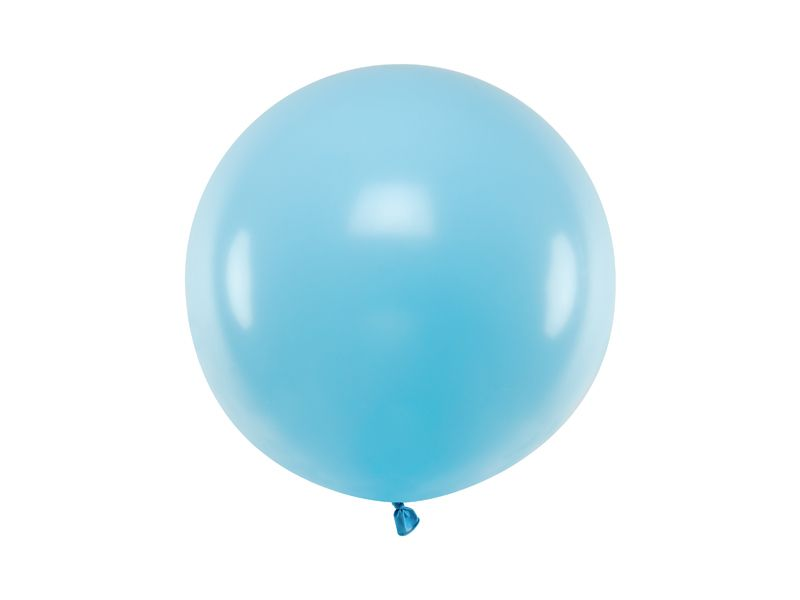 globo grande azul