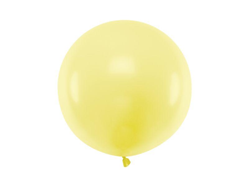 globo grande amarillo
